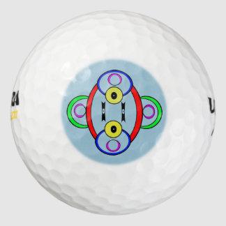 Silly Clown Golf Ball