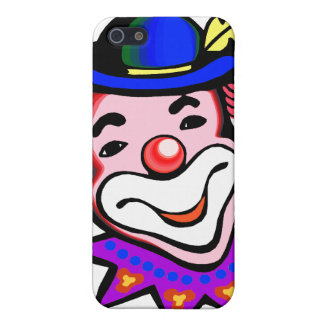 silly clown head iPhone 5 cover