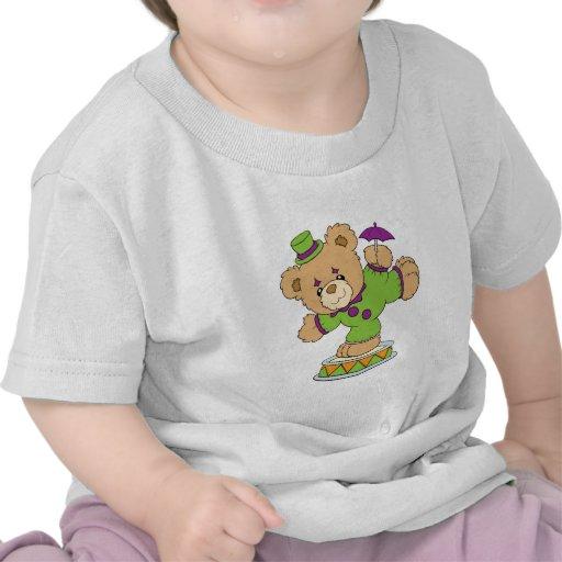 Silly Clown Teddy Bear T-shirt