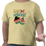 Silly Clowns 3rd Birthday Tshirts and Gifts