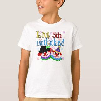 Silly Clowns 5th Birthday T-Shirt
