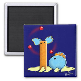 Silly Clowns Magnet