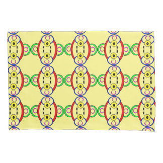 Silly Colored Clown Pillowcase