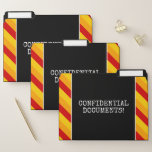 """[ Thumbnail: Silly """"Confidential Documents!"""" File Folder Set ]"""