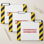 """[ Thumbnail: Silly """"Confidential Information"""" File Folder Set ]"""