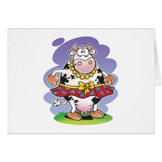 Silly Cow Matilda Card