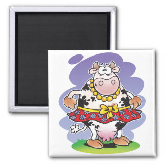 Silly Cow Matilda Magnet
