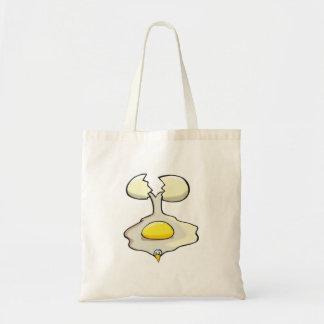 silly cracked egg bag