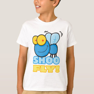 silly cute cartoon character SHOO FLY T-Shirt