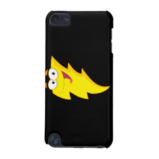silly cute cartoon lightning bolt character iPod touch 5G case