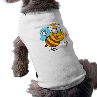 silly cute cartoon queen bee pet clothes