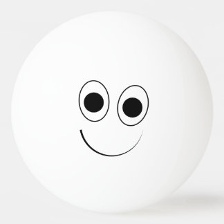 Silly, Cute Smiling Face Ping-Pong Ball