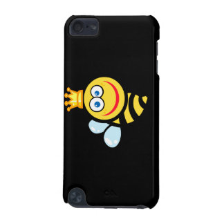 silly cute smiling queen bee cartoon iPod touch 5G cases