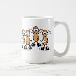 Silly Dancing Peanuts Mug