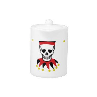 silly death clown teapot