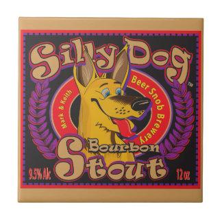 Silly Dog Bourbon Stout Tile