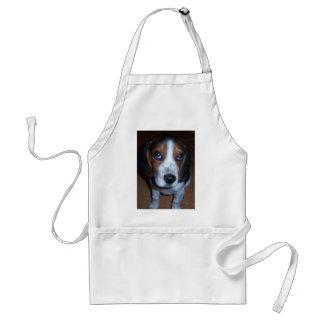 Silly Dog Randy beagle puppy Adult Apron