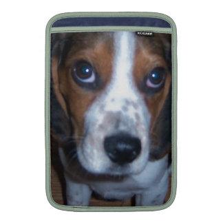 Silly Dog Randy beagle puppy MacBook Air Sleeve