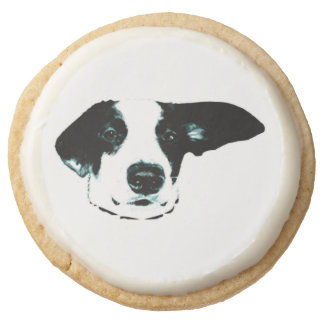 Silly Dog Shortbread Cookies