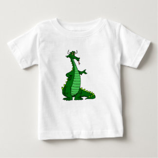 Silly Dragon Green Baby T-Shirt