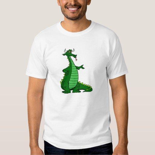 Silly Dragon Green Shirt