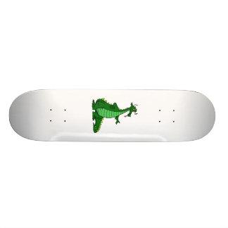 Silly Dragon Green Skate Board