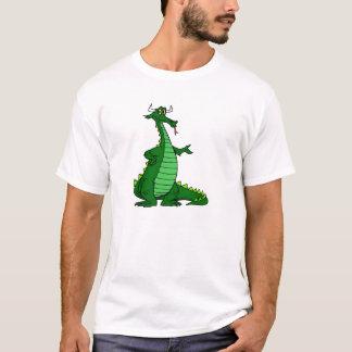 Silly Dragon Green T-Shirt