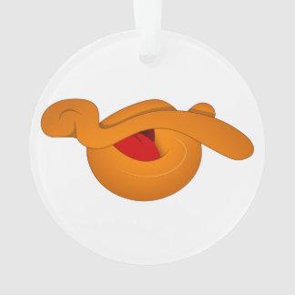 Silly Duck Face Cartoon