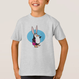 silly easter bunny penguin T-Shirt