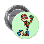 Silly Elves Button