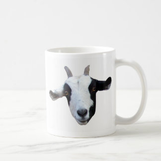 Silly-Face Goat Coffee Mug