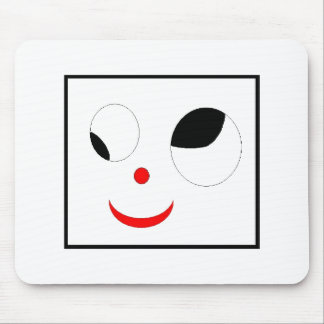Silly Face Mouse Pad