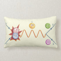Silly Feynman Diagram Lumbar Pillow