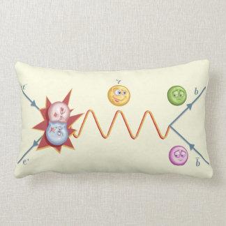Silly Feynman Diagram Pillow