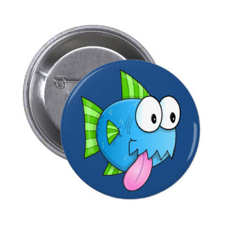 Silly Fish Button