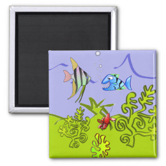 Silly Fish Door Marker Magnet