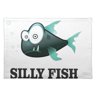 silly fish placemat