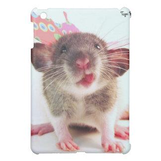 Silly Flutterby Rat iPad Mini Case