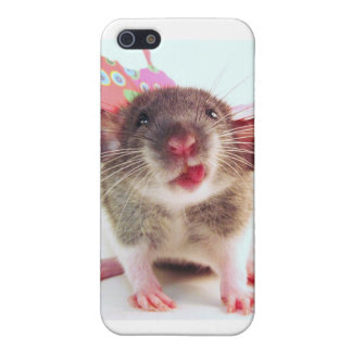 Silly Flutterby Rat iPhone SE/5/5s Case