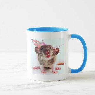 Silly Flutterby Rat Mug