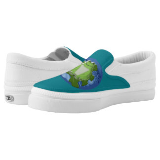 silly froggy Slip-On sneakers