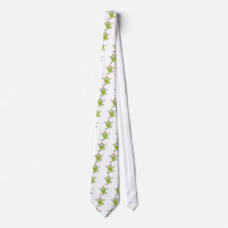 silly funny cute green grapes cartoon character neck tie
