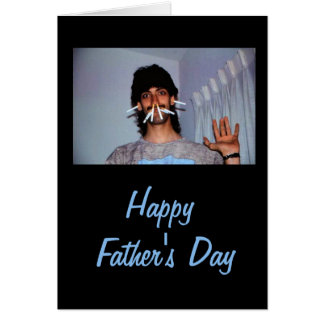 Silly Funny Dad Father's Day Greeting Card