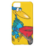 silly gardening bird with wheel barrow cover for iPhone 5C