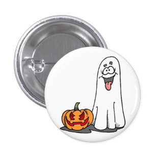 Silly Ghost Button