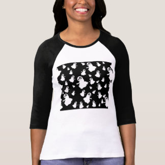 Silly Ghost Pattern T-Shirt