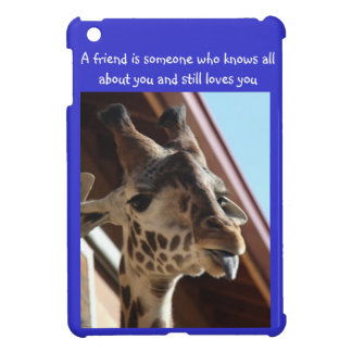 Silly Giraffe :P  Friendship iPad Case