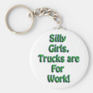 Silly Girls Key Chain