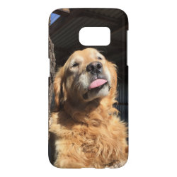 Case-Mate Barely There Samsung Galaxy S7 Case with Golden Retriever Phone Cases design