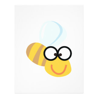 silly goofy bumble bee personalized flyer